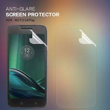 Plastic Screen Protector For Motorola Moto G4 Play - Matte/Anti-Glare