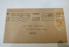 8 Sept 1954 Malaya Straits Settlement Penang Queen Elizabeth 2v 2 cents  FDC