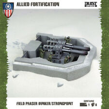 DUST: Tactics - Allied Fortification 'Field Phaser Bunker/Strongpoint' #NEW