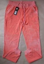 Just Cavalli Pink Velour Jogging Bottoms size L