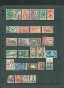 Sarawak selection, good range of stamps as scanned  [192]