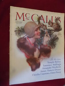 Jan 1929 McCall's Magazine cover by Neysa McMein