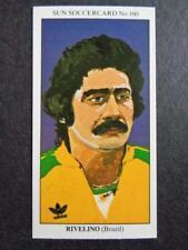 The Sun Soccercards 1978-79 - Rivelino - Brazil #160