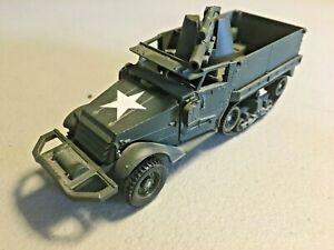 Solido Diecast WW2 US Halftrack 105mm Howitzer 1/50