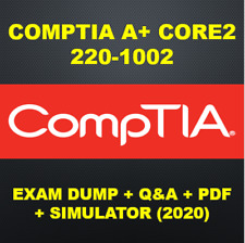 CompTIA-A+ Core2 220-1002 Exam Q&A PDF+SIM (2020)