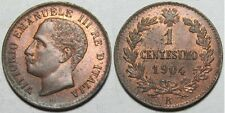 1904 Italy 1 cent.-King Umberto-Nice