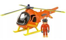 Fireman Sam Mountain Rescue Helicopter & Tom articulated figure Toy Playset