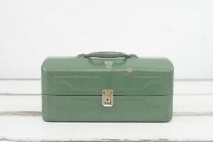 Vintage My Buddy Falls City Tackle Box 3 Tier Cantilever Trays Vintage Fishing T