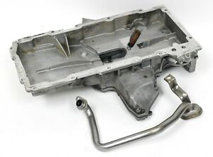 1997-2004 C5 Corvette Z06 Oil pan w/ Pick-up Tube USED OEM GM 12562019 12561829