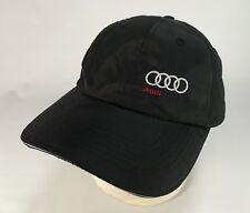 Audi South Orlando Hat Cap Car Auto Transportation Adjustable Black