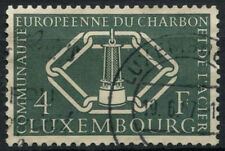 Luxembourg 1956 SG#608, 4f Coal And Steel Community Used Cat £35 #D1290