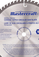 "Mastercraft 055-6998-0 Carbide Tipped Circular Saw Blade, 10"" 60 Tooth, 2 Pack"