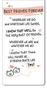 Inspired Words Magnetic Bookmark - Best Friends Forever