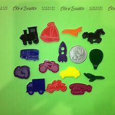 Transport Characters For I-Spy Bags Laser Cut Acrylic Trinkets