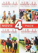 The Saddle Club Movie 4 Pack DVD R1 New & Sealed