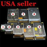 DC12V 5A 10A 15A 20A 30A 40/50A Regulated Transformer Power Supply For LED Strip