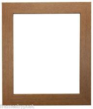 Metro Oak Picture Photo Frames Quality MDF Wood 39 Sizes A1 A2 A3 A4 20x16 16x12