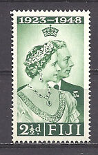 FIJI , SILVER WEDDING , 1948 , STAMP , PERF , VLH