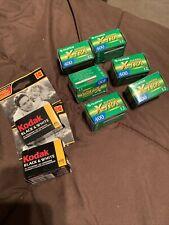expired 35mm film lot Kodak Fujifilm Color & B/W