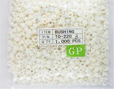 1000PCS Insulating Tablets Insulation Bushing Transistor Pads Circle TO-220
