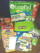 Leap Frog Leap Pad Learning System 3 Books Pen 2 cartridges The Incredibles 2003