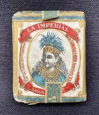 La Imperial F.Gonzalez Ouva à Cuba : Paquet plein Cigarette 1900 / Papel Arroz