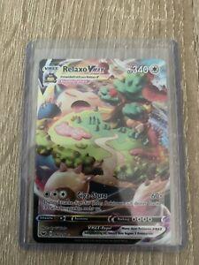Relaxo VMAX 142/202 Full Art Deutsch Schwert&Schild Pokemon Karte