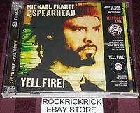 MICHAEL FRANTI & SPEARHEAD - 2 CD SET- YELL FIRE! & YELL FIRE! LIVE (LIB3CDL)