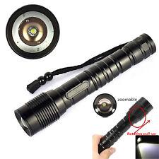 4000 Lumen XM-L T6 Tactical LED Military Grade Flashlight Torch 18650/26650 Lamp