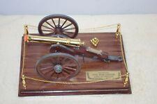 New listing  Franklin Mint Model 1857 Civil War Canon Field Gun Never Displayed Mint Coa Nice