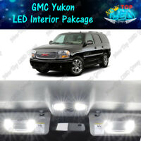 White LED Lights Interior Package Kit for 2000 - 2006 GMC Yukon Chevy Tahoe