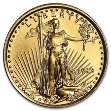 1993 1/10 oz Gold American Eagle Coin - Brilliant Uncirculated - SKU #4702