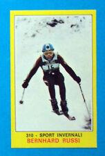 Figurina CAMPIONI DELLO SPORT 1970/71-n.310-RUSSI-SPORT INVERNALI-rec