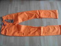BLUE EFFECT schöne Jeans orange  Gr. 176 NEU VS1