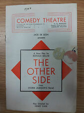 1946 Theatre programme: THE OTHER SIDE by Ronald Miller