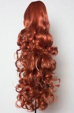 Extensions de cheveux bruns foncés bouclés pour femme