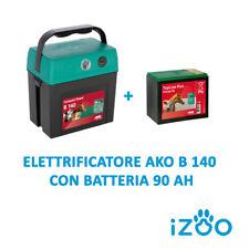Elettrificatore AKO B140 a Batteria x Recinto elettrico recinzione elettrificata