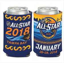 NHL All Star Game 2018 Tampa Bay Can Cooler 12 oz. Koozie
