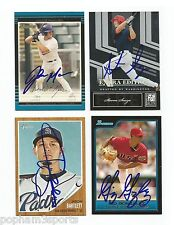 GIO GONZALEZ Signed/Autographed 2006 BOWMAN Futures Game CARD Nationals w/COA