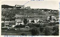 FONT ROMEU ODEILLO VIA Vue panoramique d'Odeillo En bas la clinique d'Odeillo