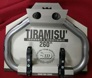 3ttt Tiramisu Lenkeraufsatz für Rennrad, grau, NEU, made in Italy, Alu, NEU, NOS