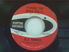 "B J THOMAS ""PASS THE APPLE EVE / FAIRY TALE OF TIME"" 45 NEAR MINT"