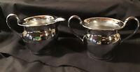 Vintage Farberware Chrome Creamer & Sugar Bowl's , New York, N.Y.