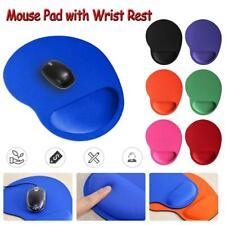 Ergonomic Comfort Wrist Support Mouse Pad Mice Mat Computer PC Laptop Non Slip ^