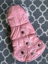 Luxury Dog Coat Pink XXS 28cm Chihuahua Puppy