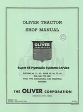 Oliver 55 66 77 88 SUPER 550 660 770 880 Service Manual