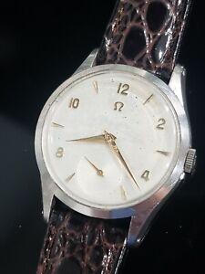 OMEGA VINTAGE Cal. 266 Ref. 2750-4 RARE 50s 35mm Swiss Men's Watch