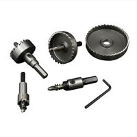 HSS Round Shank Holesaw Metal Hole Saw Drill Bit Iron Plate Cutter Reaming Tool