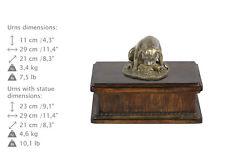 Staffy 2, dog exclusive urn made of cold cast bronze, Art Dog, UK