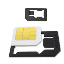 ADAPTER CARD KIT NANO ADATTATORI 3in1 MICRO SIM PER SMARTPHONE IPHONE SAMSUNG wa